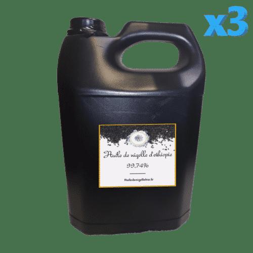 Huile de nigelle bio fournisseur 15L